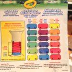 Crayola Color Maker Color Guide